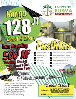 pamflet kampoeng Kurma Sultan saladin